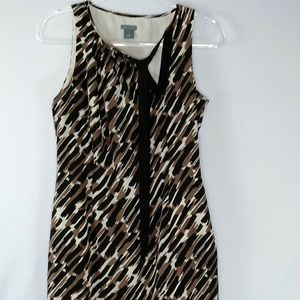 Ann Taylor Womens Silk Sleeveless Dress Size 6